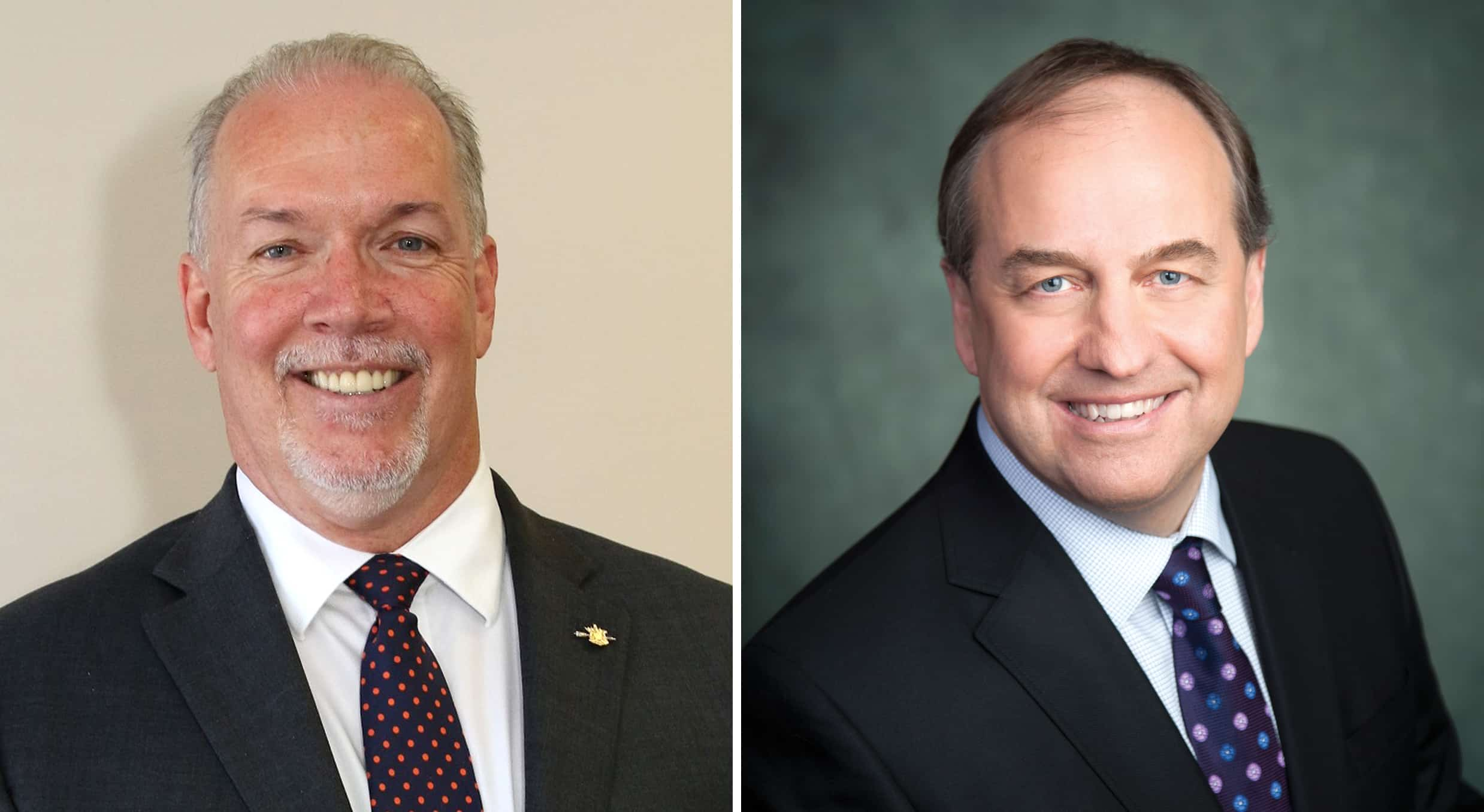 Clark's political games are hurting British Columbians, say Horgan and Weaver