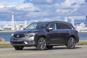 The Restyled And Refreshed 2017 Acura Mdx Suv Raises Its With Bold New Exterior Styling Larger Wheel Tire Options An Expanded Complement Of