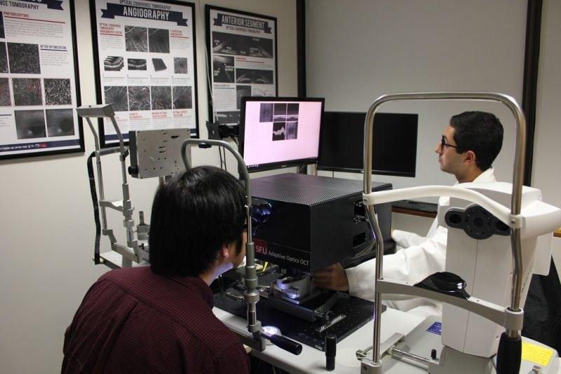 SFU engineer develops retina scanner that will diagnose eye
