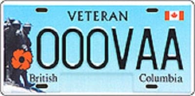 Should police officers also have veteran licence plates? NEWS-vet-plate
