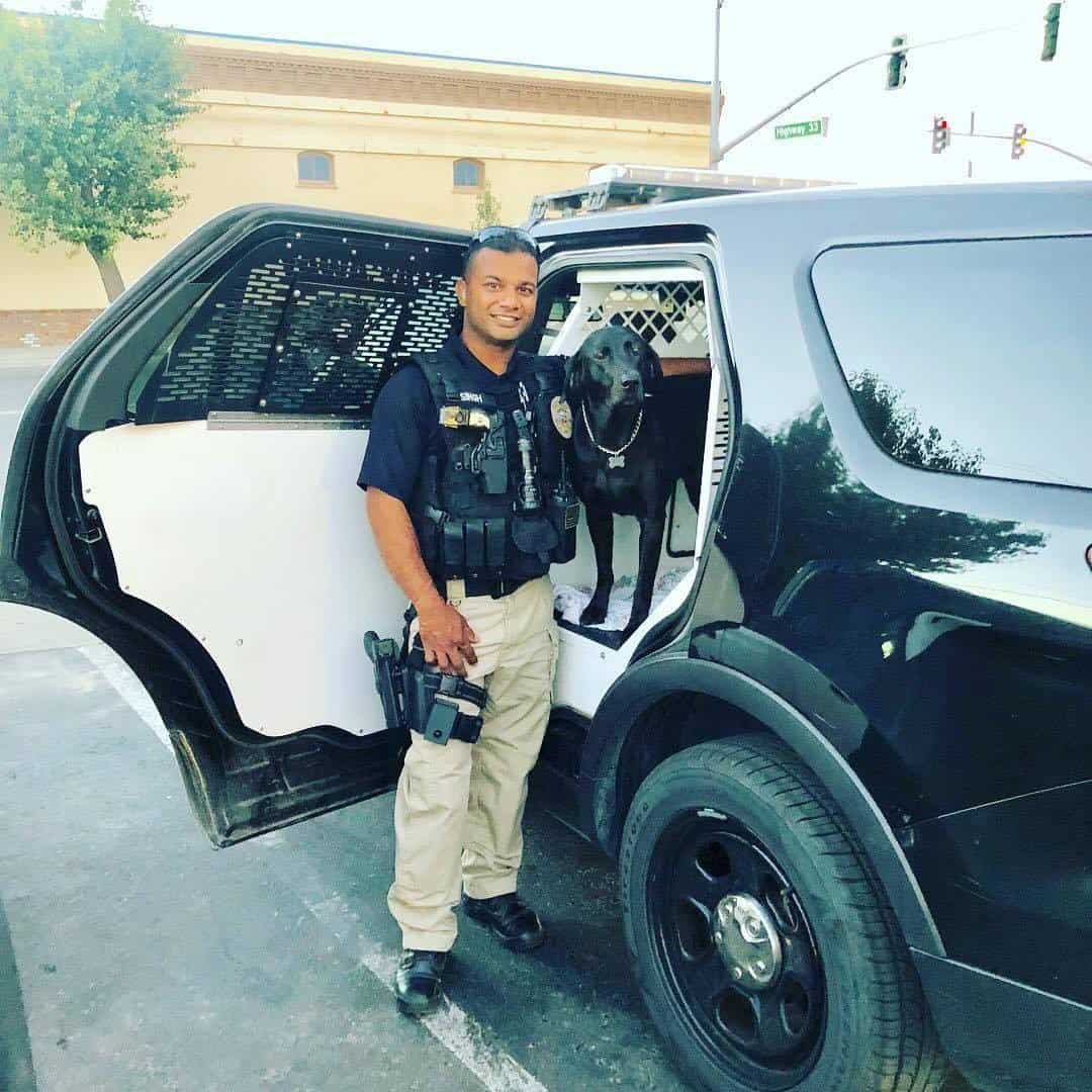 California's Newman Police Department's Cpl. Ronil Singh
